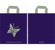 Пакет пет. 30*34 Бабочка фиолетовы 90мк С 1/50/700