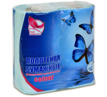 """Полотенце бумаж """"Знак комфорта"""".1/2/10 MORIS 2х сл."""