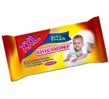 Салфетки влажные Детские (Discount) 1/100/18