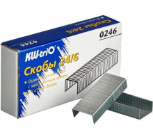 Скоба/степ. №24/6 KW-trio1000шт./уп. Buro 1/20/400