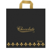 Пакет пет. 40*40 Б Шоколад черн. 95мк С 1/50/400