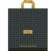 Пакет пет. 30*34 Подарочный премиум черный 90мк С 1/50/700