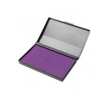 Штемпельная подушка Attomex фиолетовая 110*70