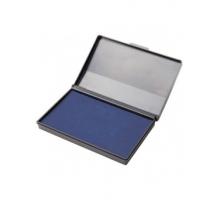 Штемпельная подушка Attomex синяя 110*70