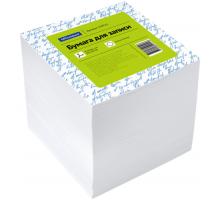 Блок для записи OfficeSpace 9*9*9 1000л белый 1/12