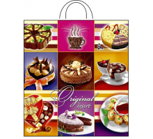 Пакет пет. 38*42 (интерпак) Десерт 1/25/500 ПНД