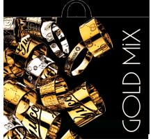 Пакет пет. 60*50 Gold  Mix интерпак 1/50/250