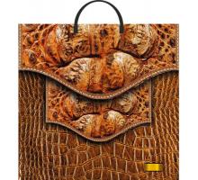Сумка 36*37 Кожаная сумка
