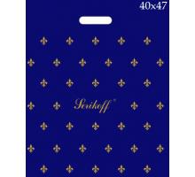 Пакет прор. 40*47 Лилия синяя 90 мк С 1/50/500