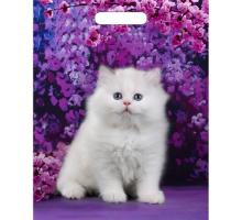 Пакет пр. 31*40 (60) Милый котик глянец 1/50/500 Тико