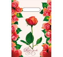 Пакет пр. 20*30 Розовая дымка 1/100/3000 (35)