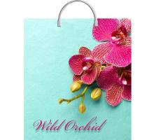 Сумка 40*44 Розовая орхидея
