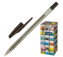 Ручка шар. AA927 с метал.нак. Beifa черная 1/50