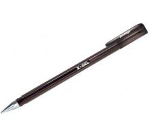 Ручка гел.Berlingo X-Gel черная 0,5мм 1/12