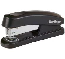 Степлер №24/6 Berlingo до 30л черный 1/12 Н3100