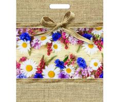 Пакет пр. 31*40 (60) Цветочный мешочек 1/50/500 ТИКО
